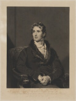 Sir Charles Richard Vaughan, by Samuel Cousins, after  Sir Thomas Lawrence - NPG D38819