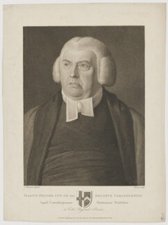 Isaac Milner, by and published by Johann Gottlieb Facius, by and published by  Georg Siegmund Facius, after  Thomas Kerrich - NPG D38418