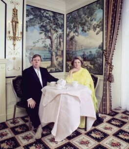 Timothy Spall; Brenda Blethyn, by Andy Gotts - NPG x134137
