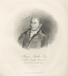 James Sadler, by and published by B. Taylor - NPG D38824