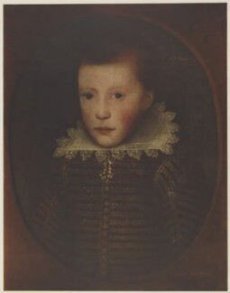 John Milton, after Cornelius Johnson (Cornelius Janssen van Ceulen) - NPG D38831