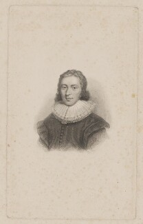 John Milton, by William Camden Edwards, after  Cornelius Johnson (Cornelius Janssen van Ceulen) - NPG D38834