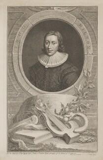 John Milton, by Jacobus Houbraken, published by  John & Paul Knapton, published 1741 - NPG D38835 - © National Portrait Gallery, London