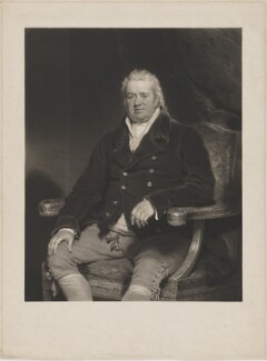 Sir Robert Williames Vaughan, Bt, by Charles Turner, after  Sir Martin Archer Shee - NPG D39225