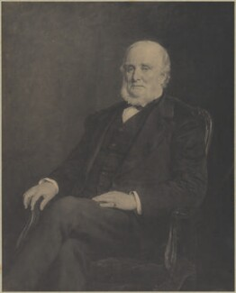 George Stovin Venables, by Frederick Hollyer, after  John Collier - NPG D39227