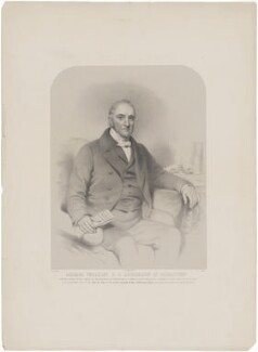 Richard Venables, by Richard James Lane, printed by  M & N Hanhart, after  Eden Upton Eddis - NPG D39228