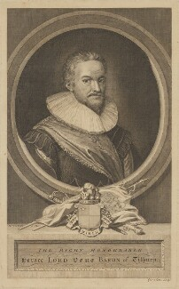 Horace Vere, Baron Vere of Tilbury, by George Vertue, after  Michiel Jansz. van Miereveldt - NPG D39230