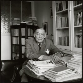 T.S. Eliot, by Ida Kar - NPG x134150