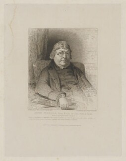 John Nichols, by Charles Theodosius Heath, published by  John Britton, after  John Jackson, published 1 July 1811 - NPG D38758 - © National Portrait Gallery, London