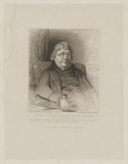 John Nichols, by Charles Theodosius Heath, published by  John Britton, after  John Jackson - NPG D38758