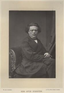 Anton Grigoryevich Rubinstein, by W. & D. Downey, published by  Cassell & Company, Ltd - NPG x22135