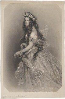Lady Clementina Augusta Wellington Villiers, by John Henry Robinson, after  Alfred Edward Chalon - NPG D39243