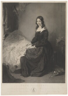 Kate Nickleby (character in Dickens novel 'Nicholas Nickleby'), by William Holl Jr, published by  National Art Union for Ireland, after  William Powell Frith - NPG D38965