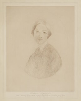 Florence Nightingale, by Sir Emery Walker, after  Elizabeth (née Rigby), Lady Eastlake - NPG D38969