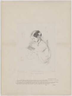 Florence Nightingale, by Richard James Lane, printed by  Day & Son, published by  Paul and Dominic Colnaghi & Co, after  Joanna Hilary Bonham Carter, after  John Pinches - NPG D38970
