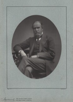 John Lubbock, 1st Baron Avebury, by Herbert Rose Barraud, published by  Eglington & Co - NPG x137