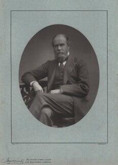 John Lubbock, 1st Baron Avebury, by Herbert Rose Barraud, published by  Eglington & Co, published 1889 - NPG x137 - © National Portrait Gallery, London