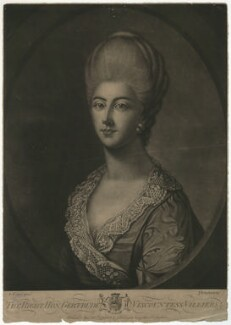 Gertrude Mason-Villiers (née Seymour-Conway), Countess Grandison, by, published by and sold by John Finlayson, after  Edward Francis Cunningham (Calze) - NPG D39246