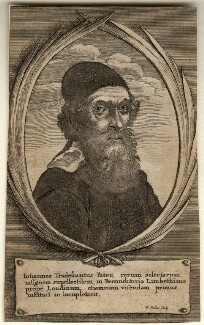 John Tradescant the Elder, by Wenceslaus Hollar - NPG D10973