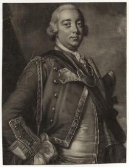 Robert Monckton, by James Macardell, after  Thomas Hudson - NPG D38860