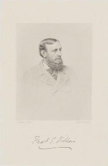 Frederick Ernest Villiers, by Joseph Brown, after  Alexander Bassano - NPG D39247