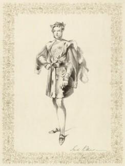 Hon. Frederick William Child-Villiers as Guy de la Motte, after Unknown artist - NPG D39248