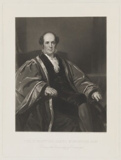 James Wellwood Moncreiff, 1st Baron Moncreiff of Tulliebole, by Thomas Lewis Atkinson, published by  Henry Graves & Co, after  Sir Daniel Macnee - NPG D38862