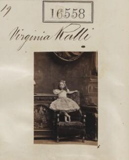 Virginia Spartali (née Ralli), by Camille Silvy - NPG Ax64465