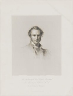 Henry Montagu Villiers, by W. Joseph Edwards, printed by  H. Wilkinson, published by  Henry Graves & Co, after  George Richmond - NPG D39249