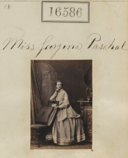 Georgina Augusta Paschal, by Camille Silvy - NPG Ax64492