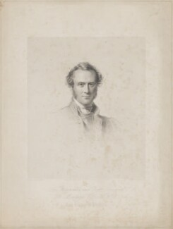Henry Montagu Villiers, by W. Joseph Edwards, printed by  H. Wilkinson, published by  Henry Graves & Co, after  George Richmond - NPG D39250