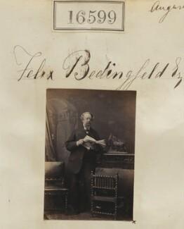 Felix William George Richard Bedingfeld, by Camille Silvy - NPG Ax64505
