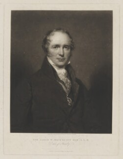 Sir James Wellwood Moncreiff, 9th Bt, Lord Moncreiff, by Samuel Cousins, published by  William Walker, after  Sir John Watson-Gordon - NPG D38863
