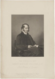 Henry Montagu Villiers, by Daniel John Pound, after  Mayall, published by  Illustrated News of the World - NPG D39252