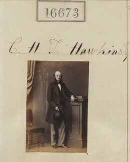 Christopher Henry Thomas Hawkins, by Camille Silvy - NPG Ax64571