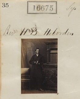 Henry Buller Heberden, by Camille Silvy - NPG Ax64573