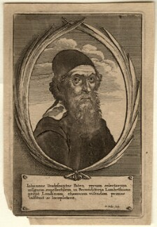 John Tradescant the Elder, by Wenceslaus Hollar - NPG D10975