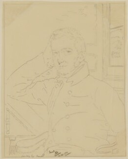 Lewis Way, by James Donald Milner, after  John Downman - NPG D39254