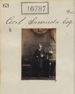Cecil D'Aguilar Samuda, by Camille Silvy - NPG Ax64672