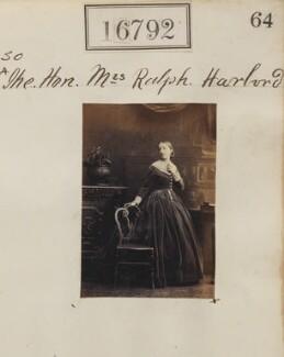 Elizabeth Pole Harbord (née Schenley), by Camille Silvy - NPG Ax64677