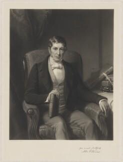 John Painter Vincent, by Henry Cousins, after  Eden Upton Eddis - NPG D39257