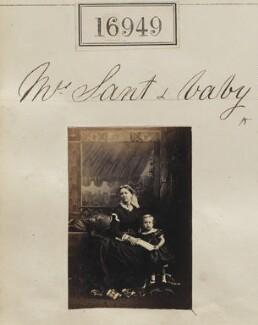 Eliza Sant (née Thomson); Mowbray Lees Sant, by Camille Silvy - NPG Ax64830