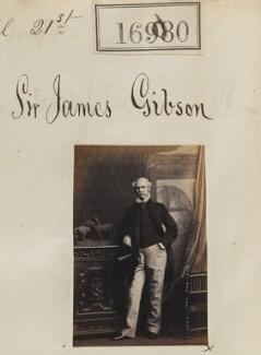 Sir James Brown Gibson, by Camille Silvy - NPG Ax64860