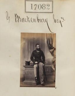 George Brackenbury, by Camille Silvy - NPG Ax64960