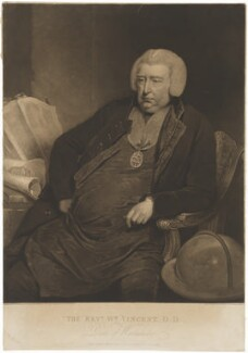 William Vincent, by and published by Charles Turner, after  William Owen - NPG D39259
