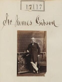 Sir James Brown Gibson, by Camille Silvy - NPG Ax64994