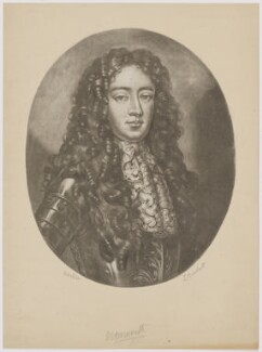 James Scott, Duke of Monmouth and Buccleuch, by Unknown artist - NPG D38868