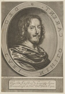 Henry Carey, 2nd Earl of Monmouth, by William Faithorne, published 1656 - NPG D38872 - © National Portrait Gallery, London