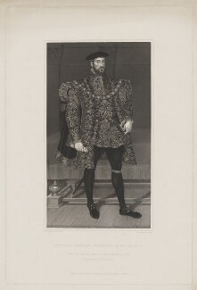 Anthony Browne, 1st Viscount Montagu, by Joseph Brown, published by and after  George Perfect Harding - NPG D38876