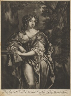 Elizabeth Montagu (née Wriothesley), Countess of Montagu when Countess of Northumberland, published by Alexander Browne, after  Sir Peter Lely - NPG D38880